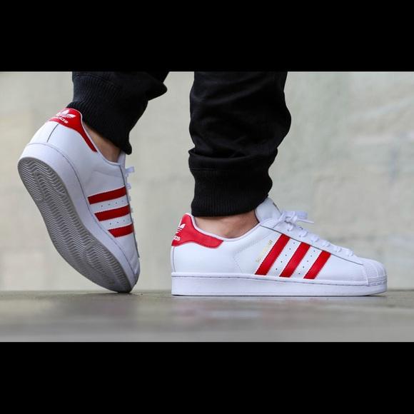 Adidas Originals Superstar Low Whitered